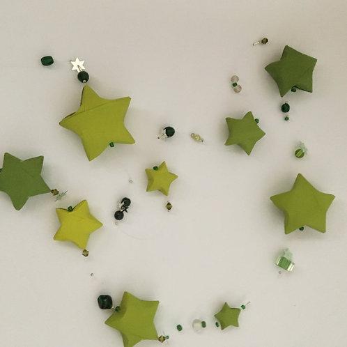 Sternengirlande olivgrün