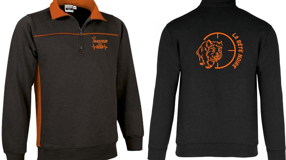 Sweatshirt zippé THUNDER