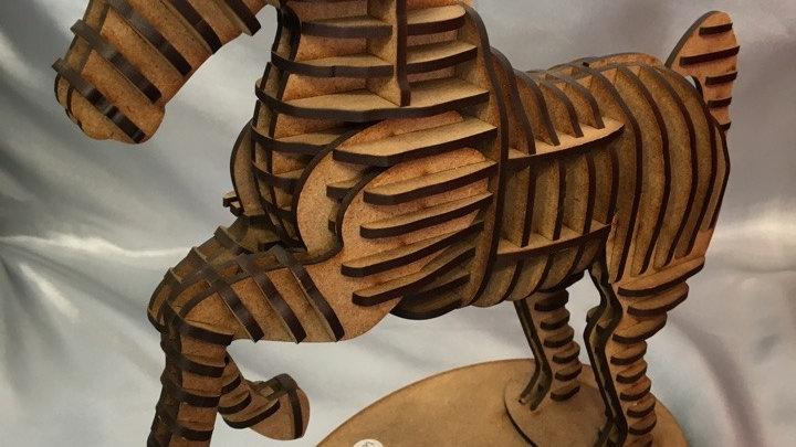 Cheval cabré