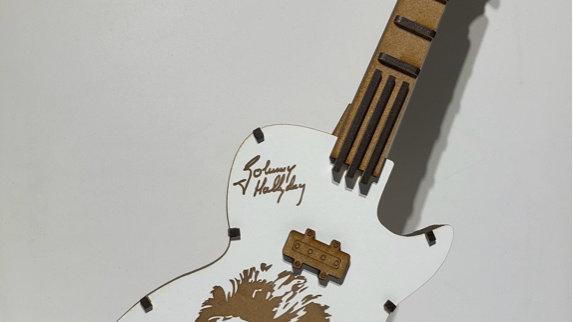 Guitare personnalisée Johnny
