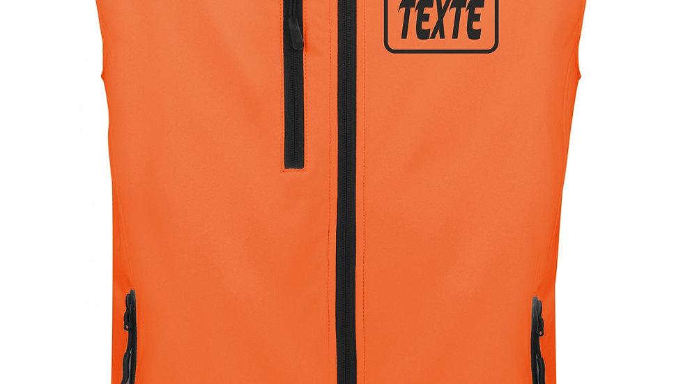 Gilet FLUO Femme motif CERF/CHEVREUIL