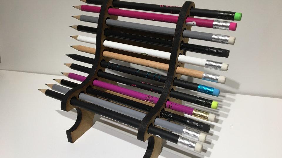 Banc range crayons