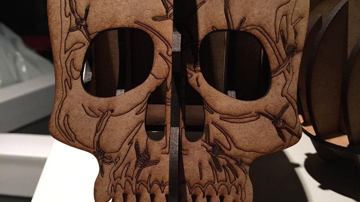 Crane tête de mort (moyen modèle)