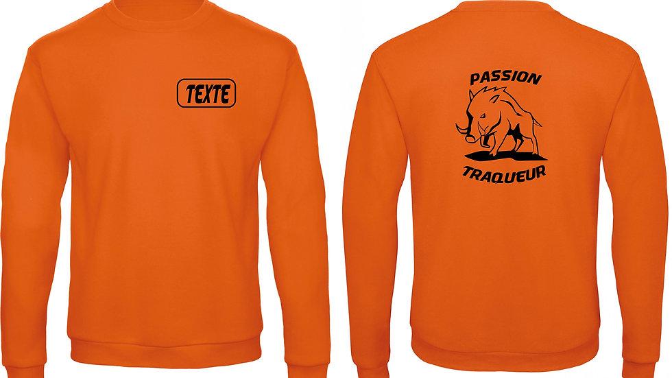 Sweatshirt PASSION TRAQUEUR