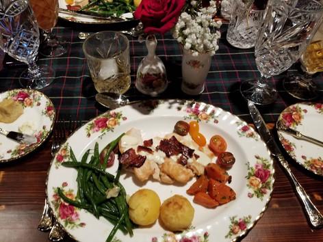 2018 Holiday Luncheon at Balmoral Restaurant