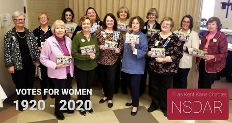 100 yr Anniversay Women's Suffrage