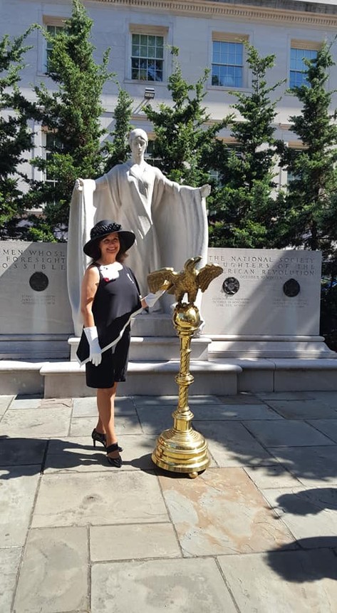 Diane Eads in Washington, D.C.