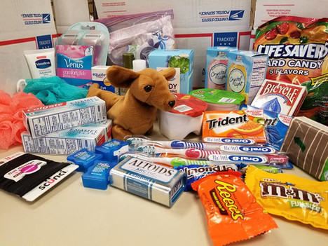 Care-Packages for Female Troops #DARDayofService