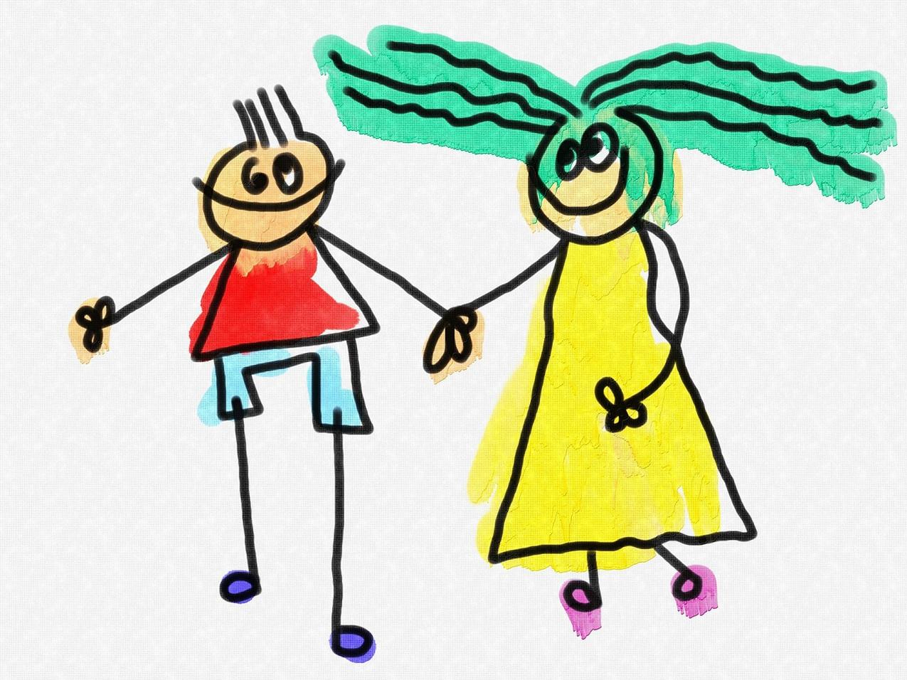 Pixabay-enfants en dessin-people-1316457