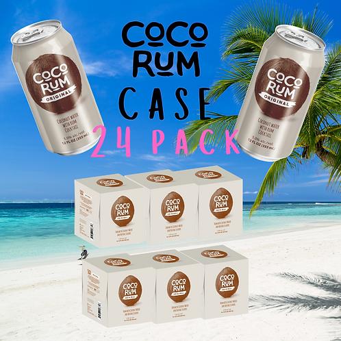 CoCo RUM (Original) CASE of 24 Cans