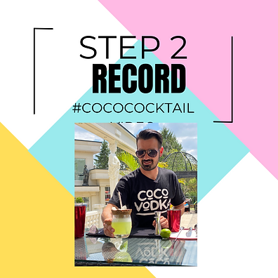 step 2 coco cocktail challenge