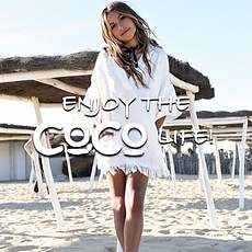 Enjoy the CoCo life CoCo Vodka CoCo Rum.