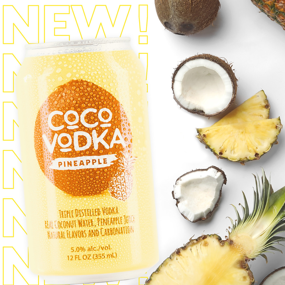 Coco vodka pineapple