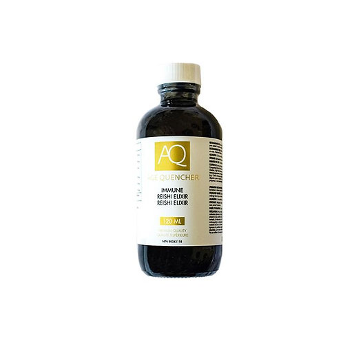 "AQ Immune Reishi Elixir  ""Liquid Gold"""
