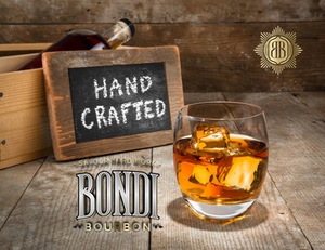 Handcrafted Bourbon, Bondi Bourbon, Savour Hard Work, Bourbon