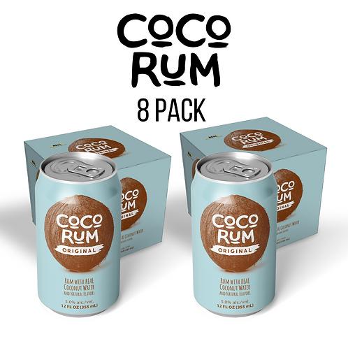 CoCo RUM (Original) 8 PACK ($11.99 per 4 Pack)