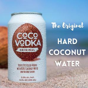 THE ORIGINAL HARD COCONUT WATER COCO VOD