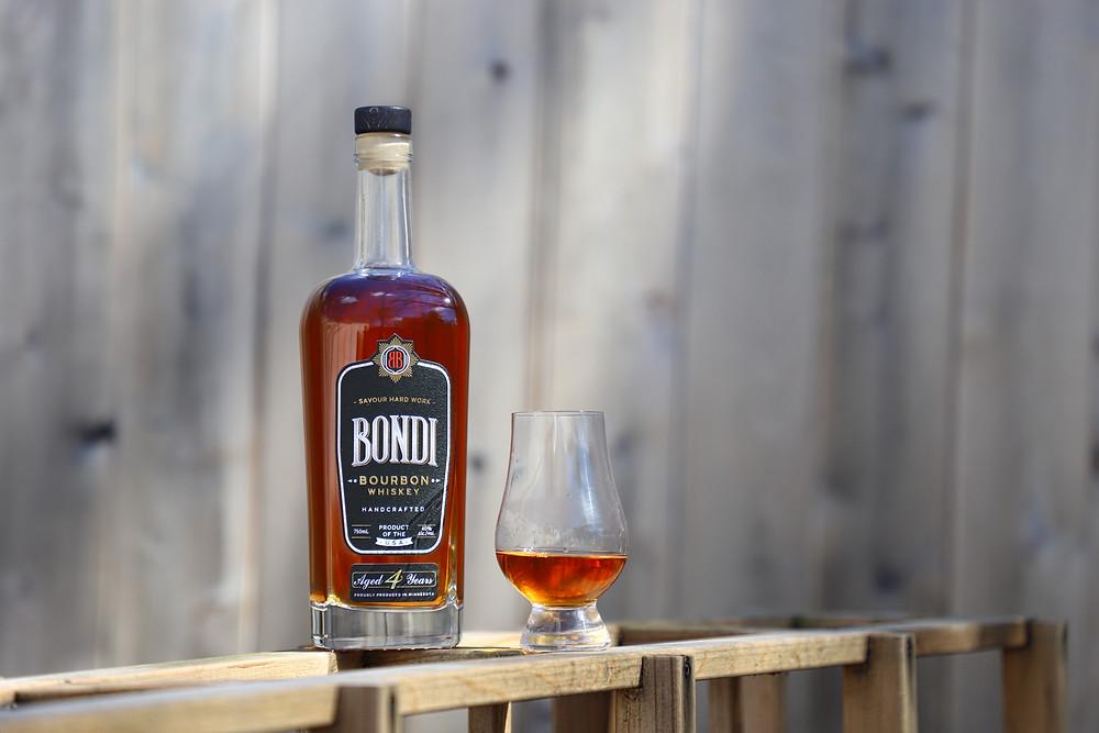 Bondi Bourbon, Hand Crafted Bourbon, MN, Bondi, Savour Hard Work, #bondibourbon
