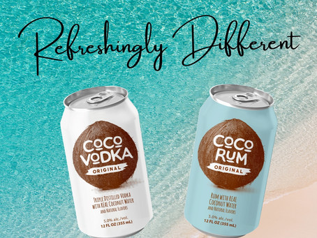 Coco Vodka and Coco Rum are Refreshingly Different!!