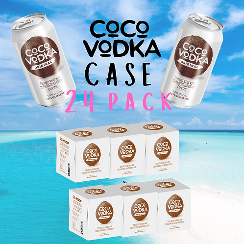 CoCo VODKA (Original) CASE (24 CANS)