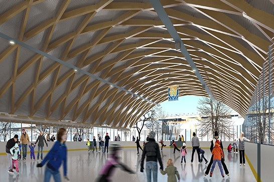 Gore Meadows Phase 2 - Ice Rink rendering_jpg