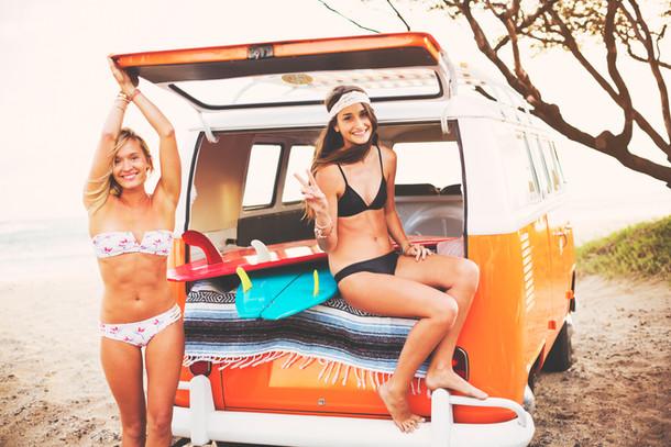 CoCo Girls Surfing