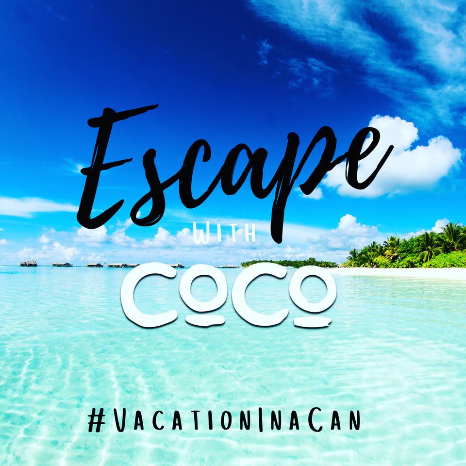 #VacationInaCan CoCo Vodka Coco Rum