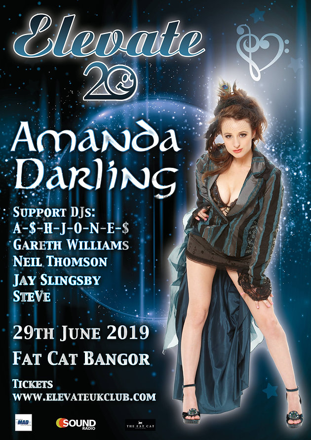 Amanda Darling | Elevate UK | Fat Cat Bangor | June 29th 2019