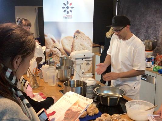 Workshop, Food fair Südback 2019