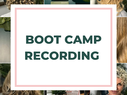 Boot Camp Recording