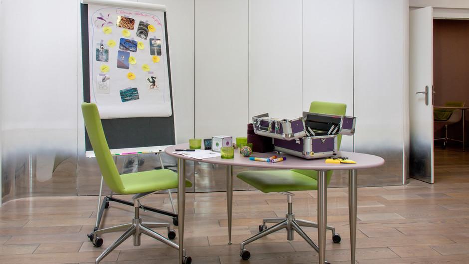inno.centre : du mobilier à disposition et adaptable suivant vos besoins