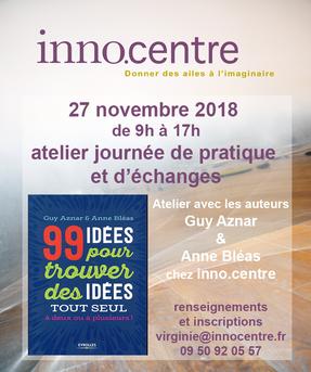 Atelier Guy Aznar et Anne Bléas 27 novembre 2018
