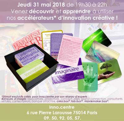 Soirée Stimuli Créatifs 31 mai 2018