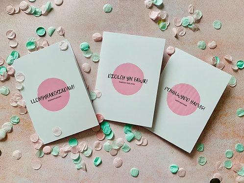Welshcake Girl Cards