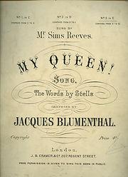 Blumenthal My queen.jpg