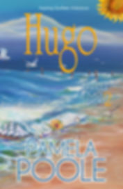 Hugo, Painter Place Saga 2, Hurricane Hugo, Christian Ficton, Southern Fiction, ship in a botle, sunflower, hurricane recovery, beach, historic hurricane aftermath