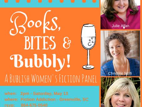 Books, Bites, and Bubbly: Bublish Women's Fiction Panel