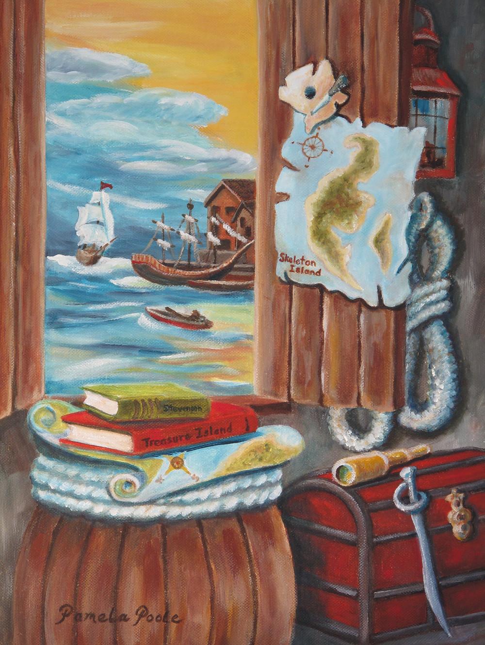 """Hunt for Treasure Island"" by Pamela Poole"