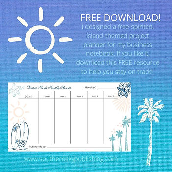 Creative Minds Planner free download pos