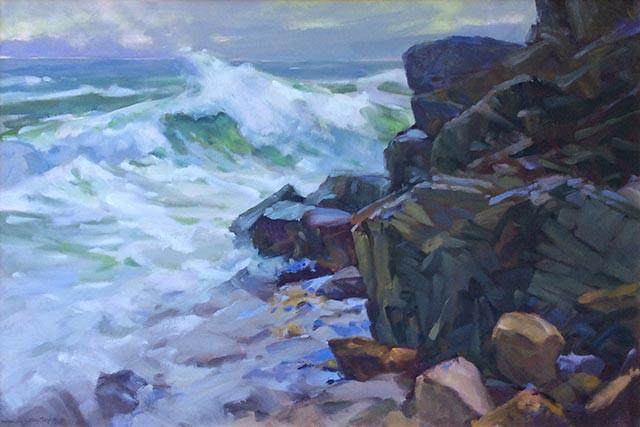 Don Stone Crashing Waves