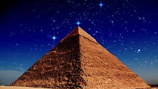 I saw the Pyramids!