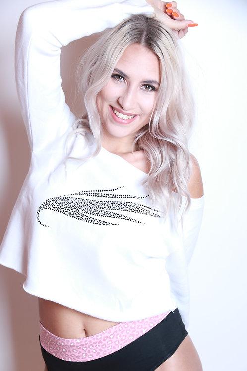 C Sweater Wing white-b