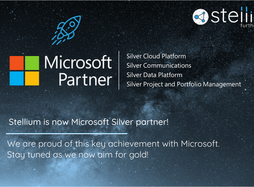 Stellium is now Microsoft Silver partner