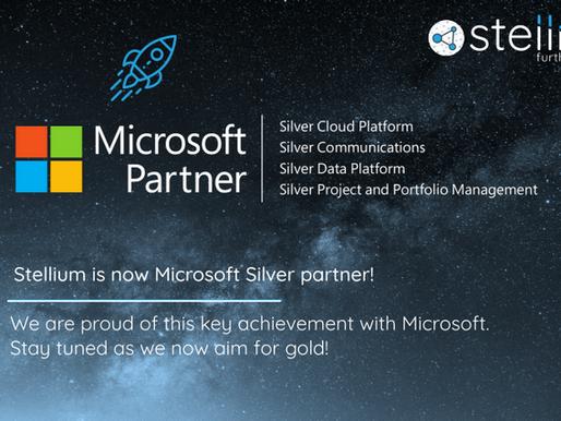Stellium is now Microsoft Silver partner