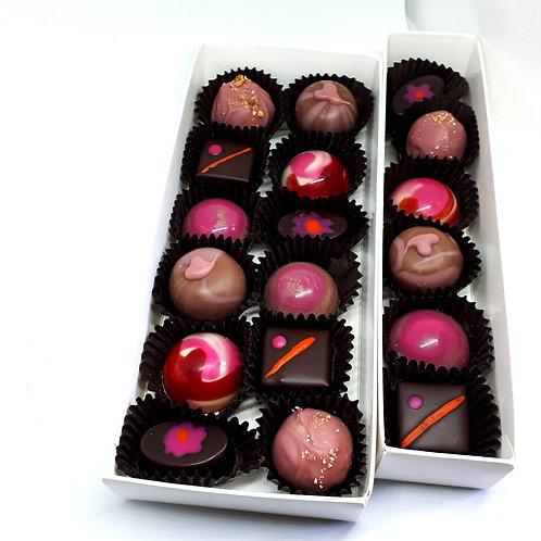 6 chocolats fins Les Classique