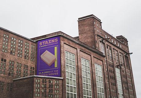Publicidade em um edifício