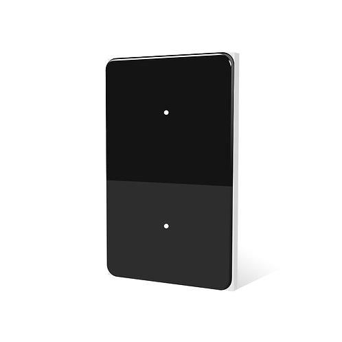 Interruptor Inteligente Moonstone Black (2 botones) LifeSmart
