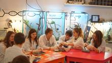 В лабораториях Политехнического музея