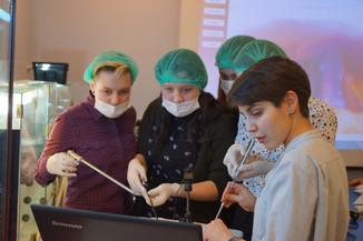 Практикум в лабораториях Политехнического музея