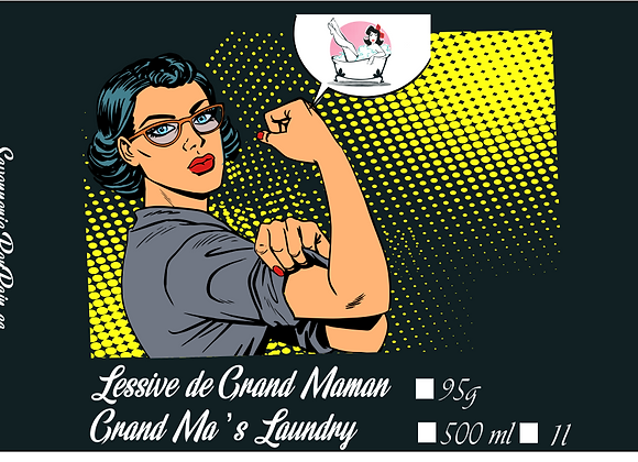 COLLECTION LESSIVE DE GRAND-MAMAN